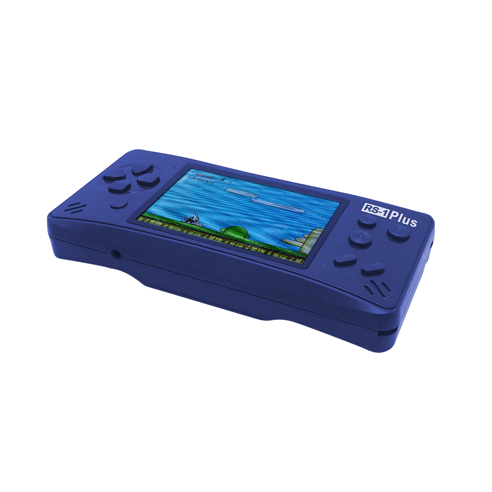 Handheld Game Console for Kids Adults RS-1 Portable Classic Game Consoles 218 Games 3.5 Inch USB Charge Video Game Player