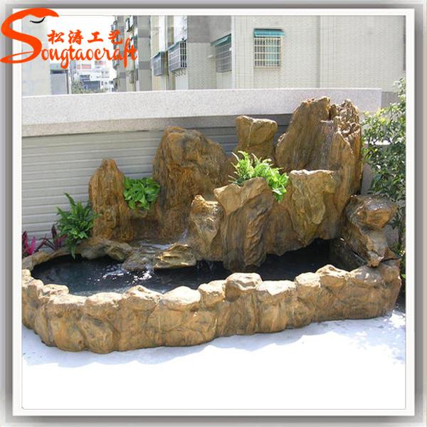 Guangzhou Supplier Outdoor Water Fountain For Garden Modern Mini Waterfall