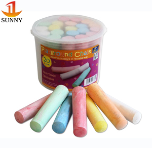 20 sticks Jumbo Dustless White Chalk