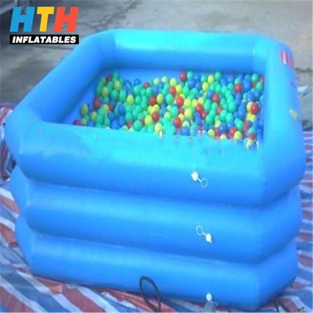PVC Inflatable Ball Pit Mini Swimming Pools For Kids