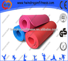 2015 hot new products Good quality TPE 6mm NBR Yoga mat wholesale