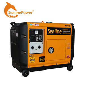 China ChangZhou Factory DIrect Sale Portable Silent Type Diesel Generator 2KW~8KW Match Different Diesel Engine