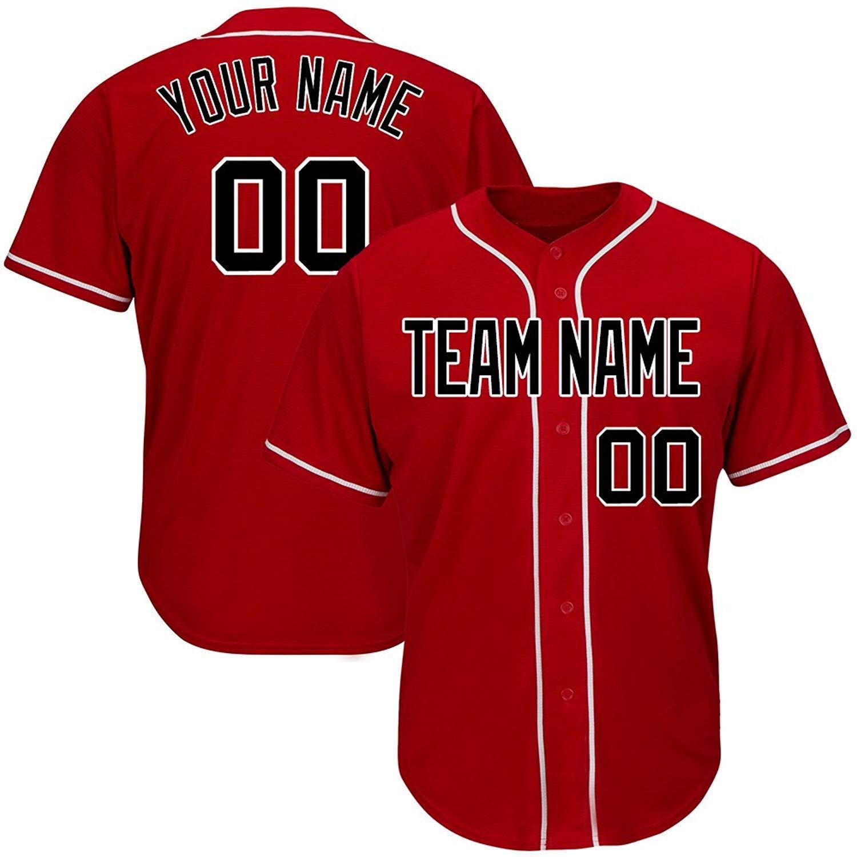 12410bf08 Get Quotations · Custom Baseball Jerseys