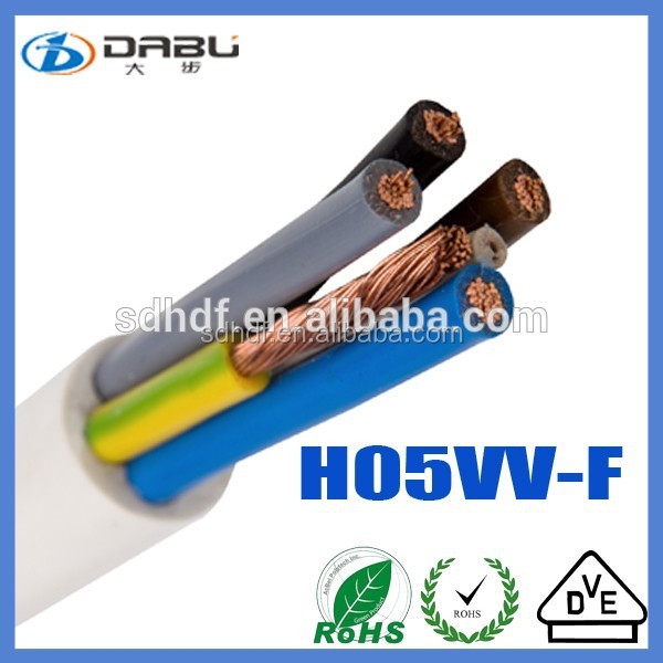 High Mechanical Stress Heavy Gauge Outdoor Equipment PVC Power Cord