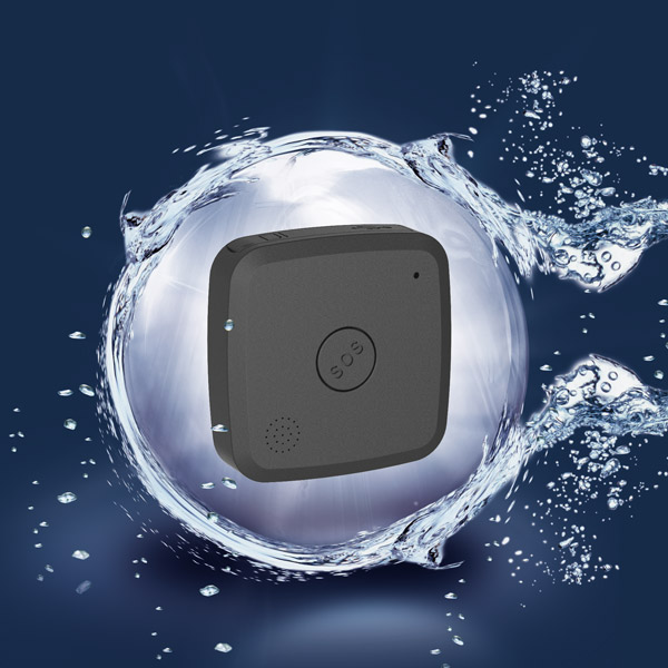 Ios & Android Compatible U-Blox Chipset Lbs+Gps With A Free App Waterproof Personal Gps Tracker