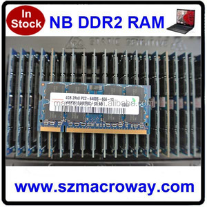 High Quality original chips Memory Ddr2 800 4 Gb ram Notebook