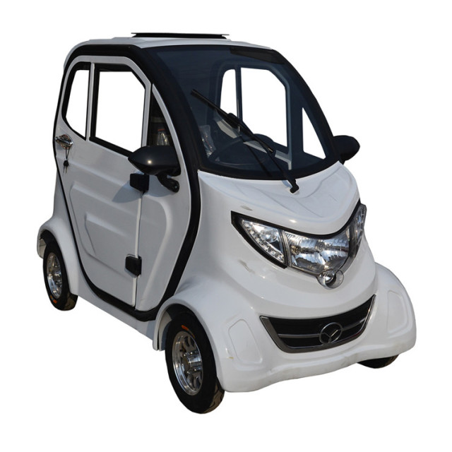 Fashion Design Solar Electric Car Adult 3 Seat Electric Mini Car China Supplier
