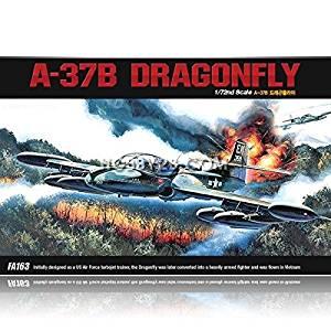Academy #12461 1/72 A-37B Dragonfly Plastic Model Kit #12461 /ITEM#G839GJ UY-W8EHF3157422