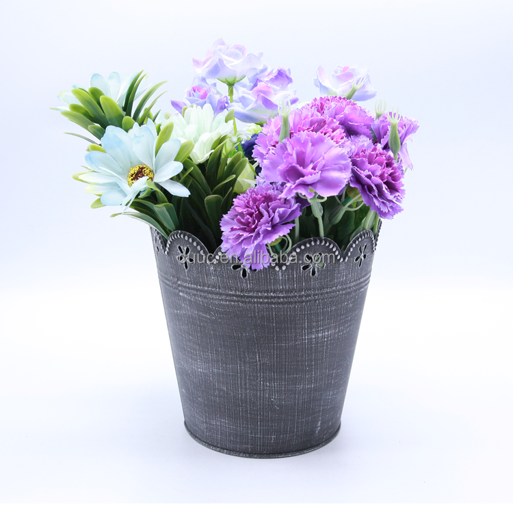 Cheap hydroponic growing plant orchid flowerpot for home & garden