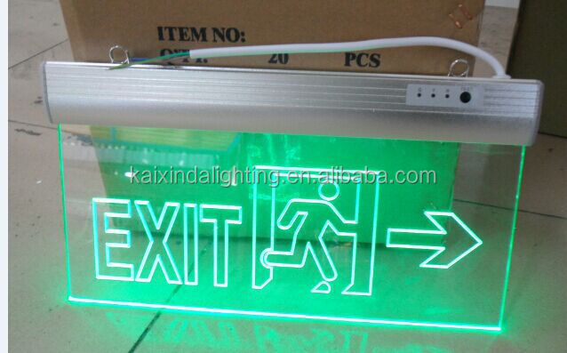 Acrylic Exit Sign,Acrylic Letter Sign,Led Acrylic Exit Sign