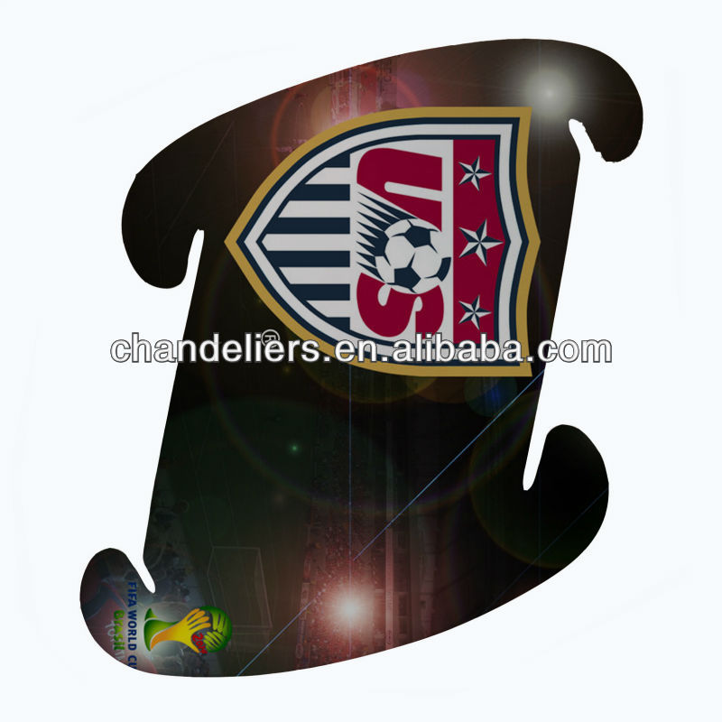 2014 Brazil World CupU.S. team logo pattern PP lampshade