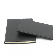 China manufacturer custom faux leather cover advertising notebook