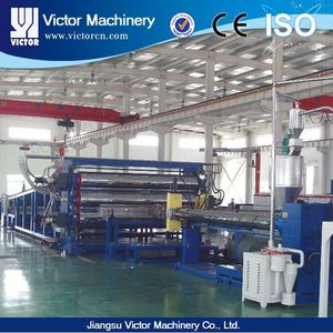 New and recycled Plastic extrusion HD LD PE sheet production line