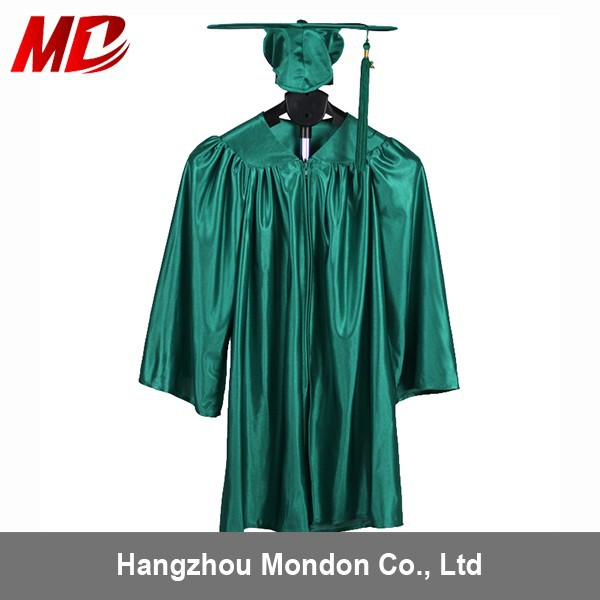 Kindergarten Graduation Cap And Gown Shiny Kelly Green - Buy ...