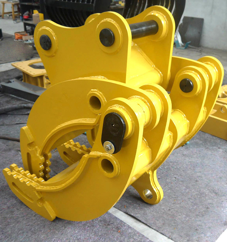 China Suppliers Excavator Parts Rock Mechanical Grapple For Pc200 ...