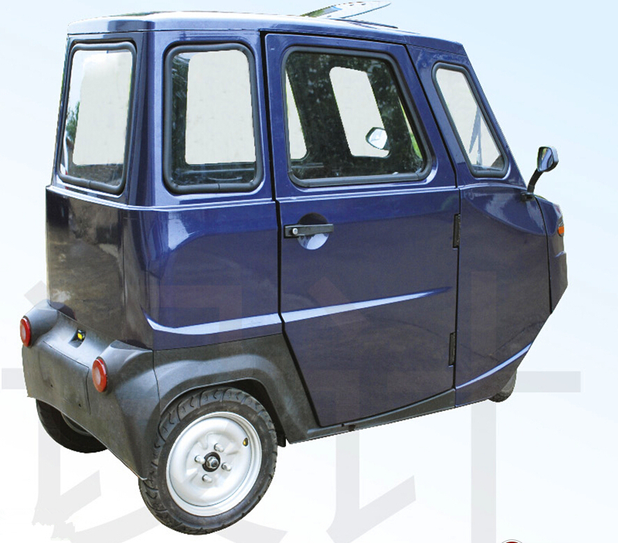 Three Wheel Two Seats Electric Car With Canopy Neighbour