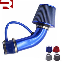 "76mm 3"" Cold Air Intake Filter Alumimum Induction Kit Pipe Car carbon air filter"
