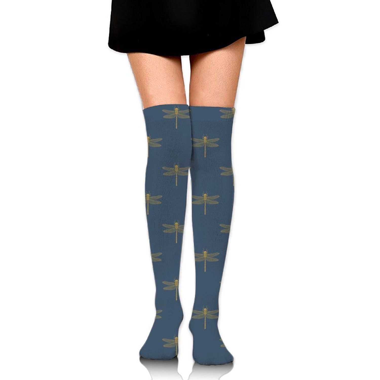 Zaqxsw Dragonfly Women Retro Thigh High Socks Girls Socks For Girls