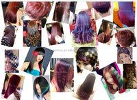 Natural Purple Hair Dye Colorful Crazy Color Wax Polishing Hair ...