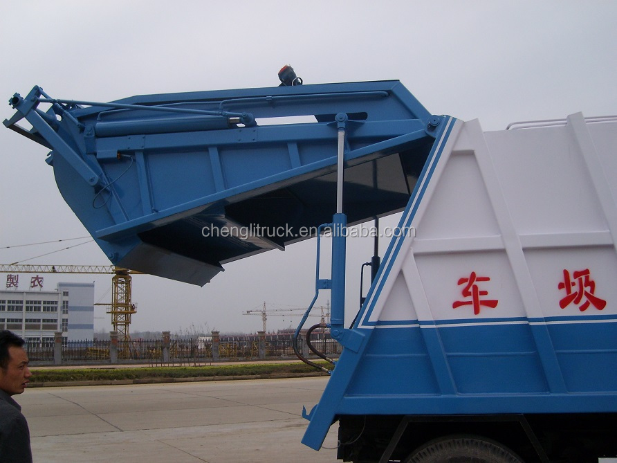 Dongfeng Compressed Garbage Truck For Sale,China Used Garbage ...