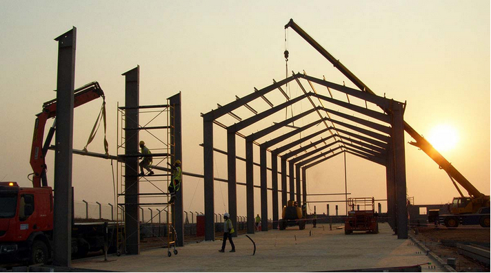 large span steel structure building prefabricated hall