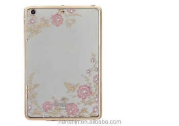 Wholesalers price secret garden T PU Leather Case for iPad Mini2/3