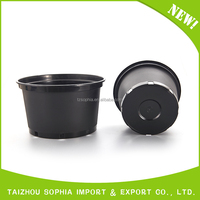 Factory Directly Provide Plastic Flower Pot With Tray