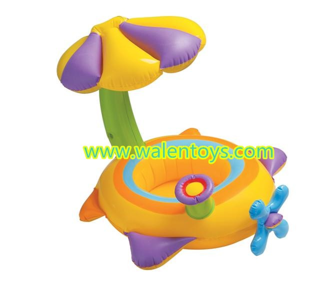 Baby Pool Ring Float Seat Inflatable Baby Seat Swimming