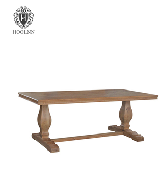 Antique French Trestle Style Dining Table That Was Handcrafted To Last For Generations The Made From Solid White Oak