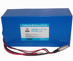 Hot sale 36v 20ah lithium battery / LifePO4 battery for electric skateboard/scootere/e-vehicles etc