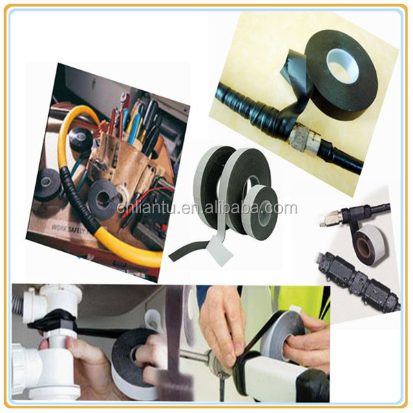Cable insulation waterproof self rubber tape edge banding tape