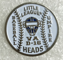 High quality changes Coins Baseball Pin with soft enamel