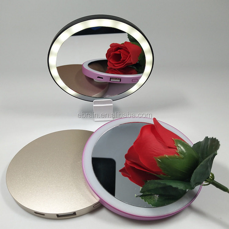Hot Sale New Multi-Functional Makeup Light Mirror with Emergency Power