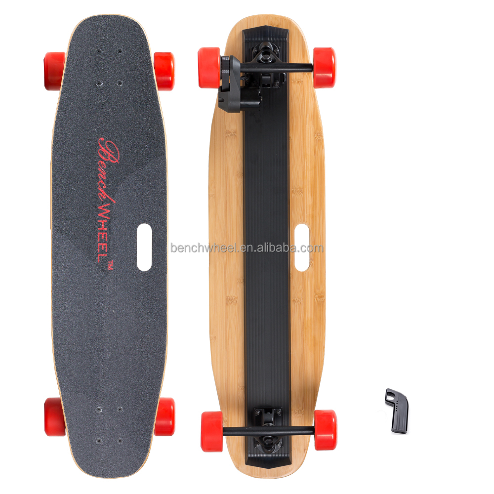 2017 5000mah battery skateboard 4 wheels remote control best electric skateboard/2 mortors skateboard