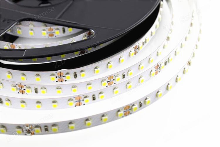 Smd 3528-600 Led Strip 3528 White Battery Powered Led Rope Light ...