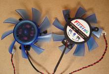 Original his hd5770 graphics card fan FD7015H12S 12V 0.43A diameter 65MM Pitch 39*39*39MM