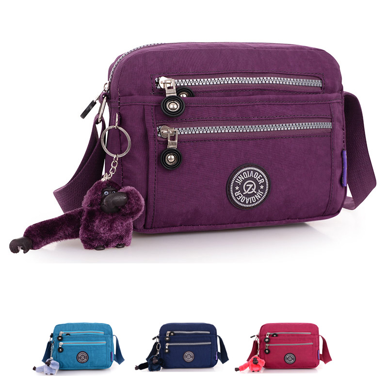 2015 Casual Bags Multifunctional Women Messenger Bags Nylon Waterproof Fashion Girl Travel Single Shoulder Crossbody Bags Style