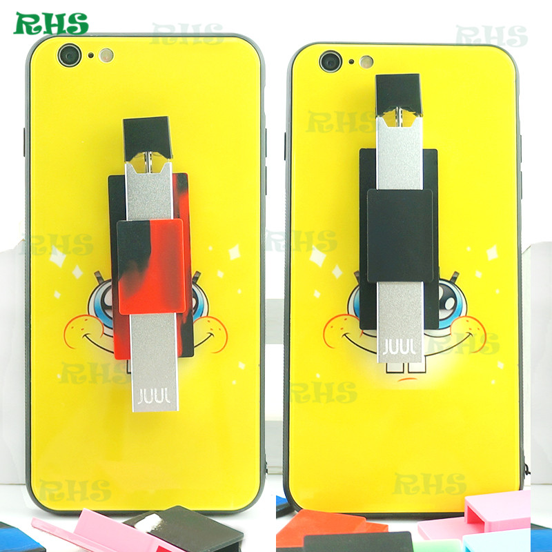 2018 Hot Selling Silicone Juul Phone Case 10 Colors Silicone Case Holder  For Juul Vape Mod Wholesale Price - Buy Juul Silicone Cover,Juul  Sticker,Juul