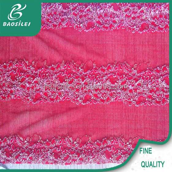 latest embroidery designs punjabi suits textile lace trimming fabric printing