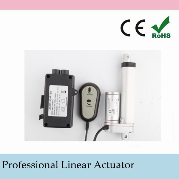 IP degree 65 1200N for industrial automatic equipment Usage DC Underwater linear actuator 300mm low cost