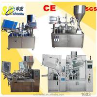 shenhu automatic beauty liquid paste piston filling and sealing machine