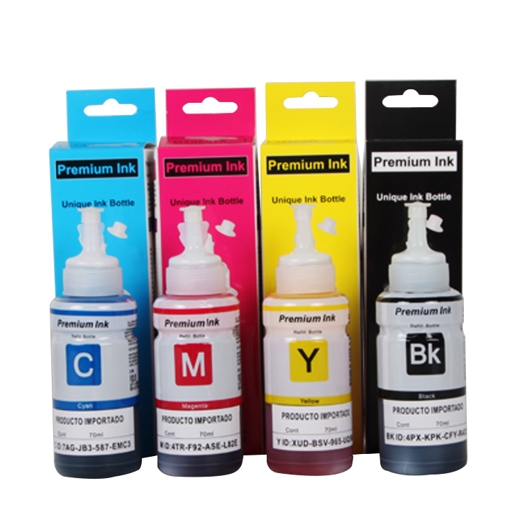 No clogged nozzles inkjet Printer Ink for epson L100/L101L1800/L605series