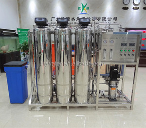 Pure Drinking Water Making Machine 500l/h Reverse Osmosis