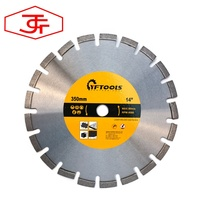 High-quality Laser Welded Diamond Saw Blade for cutting Asphalt Hard Concrete