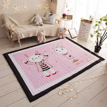 Kids Cartoon Rugs,Children Beach Mat,Cheap Baby Floor Crawling Pad