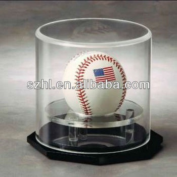 Collectible Acrylic Display Case Rotating Round Acrylic Display ...