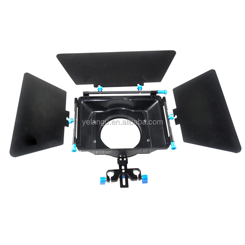 2015 DLSR Professional Action video Camera Matte Box Can Install Camera Filter