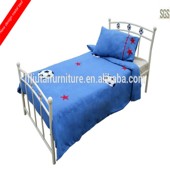 Single Bed Design Furniture With Football