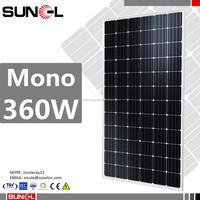 unique popular Assured Trade latest design competitive price solar panel 360w 350w 340w