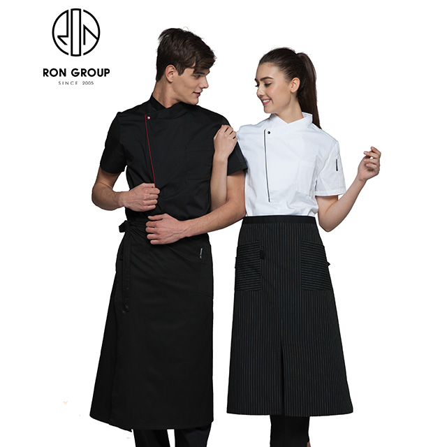 Hotel Restaurant Custom Logo Ober Uniform
